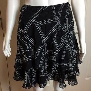Tiered Skirt | WHBM | Size Medium